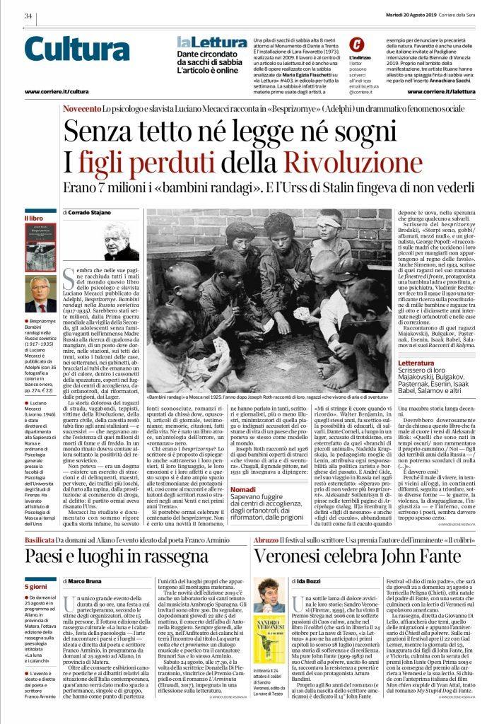 Corriere della Sera 20.8