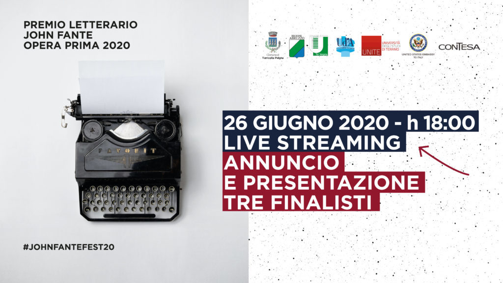 Premio John Fante Opera Prima 2020