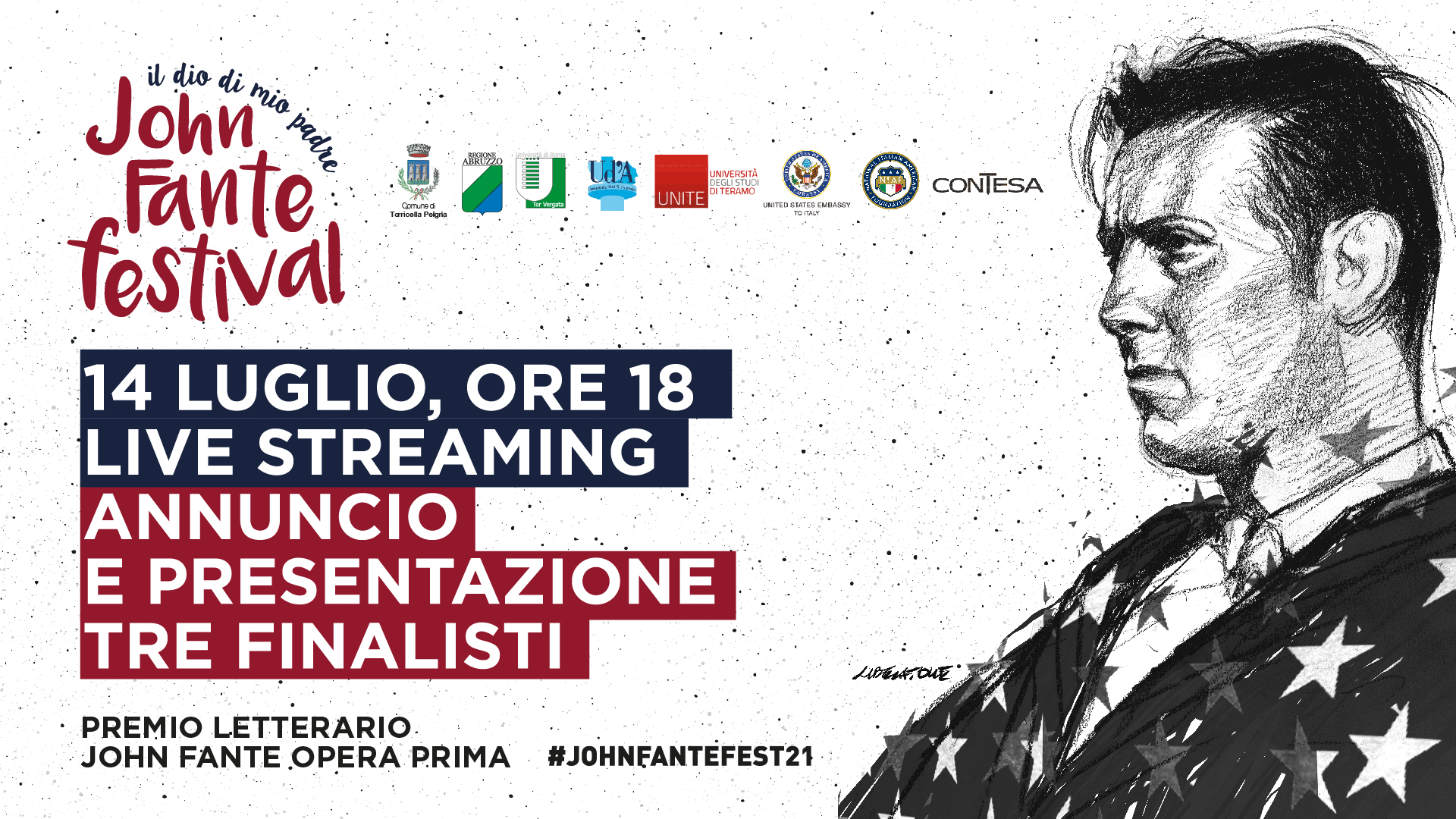 Premio John Fante Opera Prima 2021